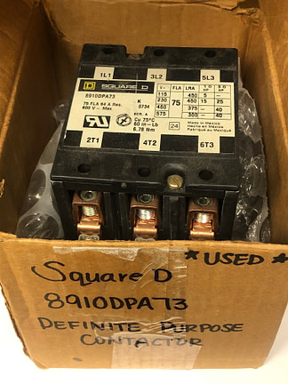 Square D 8910DPA73-used