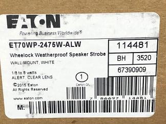 Eaton ET70WP-2475W-AlW