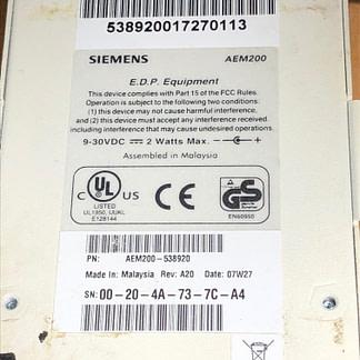 Siemens 538-920